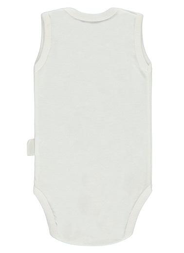 Civil Baby  Erkek Bebek Çıtçıtlı Badi 0-24 Ay Beyaz  Erkek Bebek Çıtçıtlı Badi 0-24 Ay Beyaz Beyaz